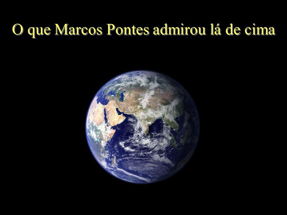 A viagem do astronauta brasileiro