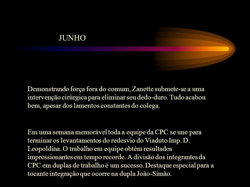 JULHO No dia 17 nasce o Bruninho.