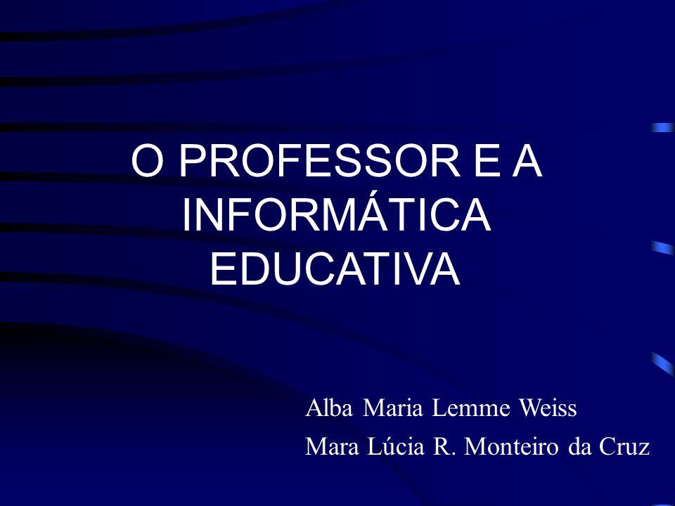 Informática Aplicada à Educação no Brasil Resultados do PRONINFE de 1980 - 1995: 44 centros de informática na educação implantados, a maioria interlig