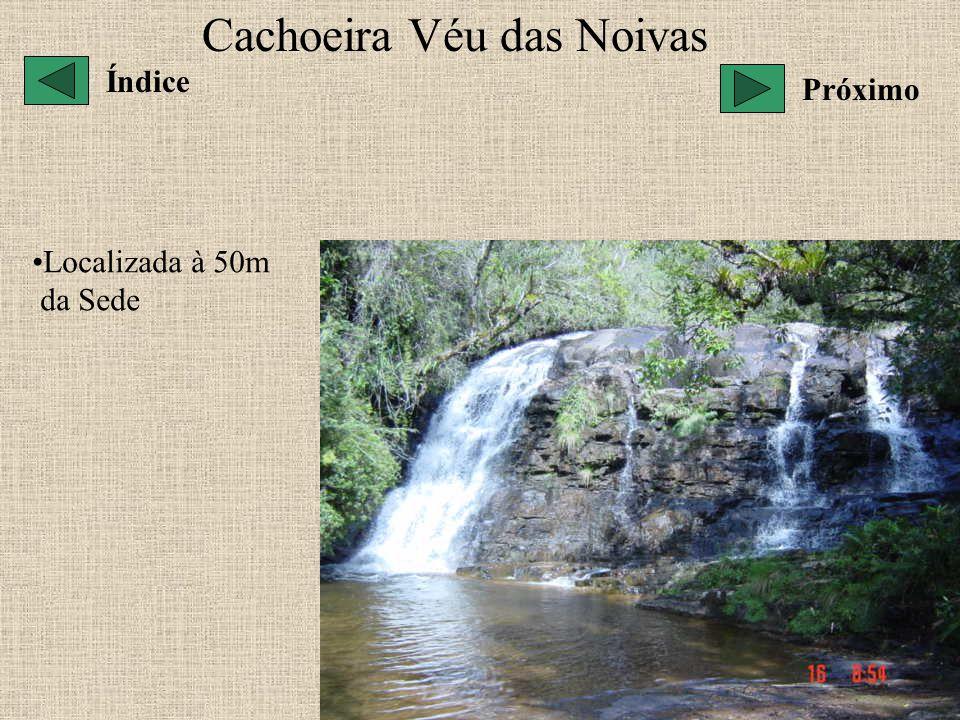 Cachoeira Véu das Noivas Localizada à 50m da Sede Índice Próximo