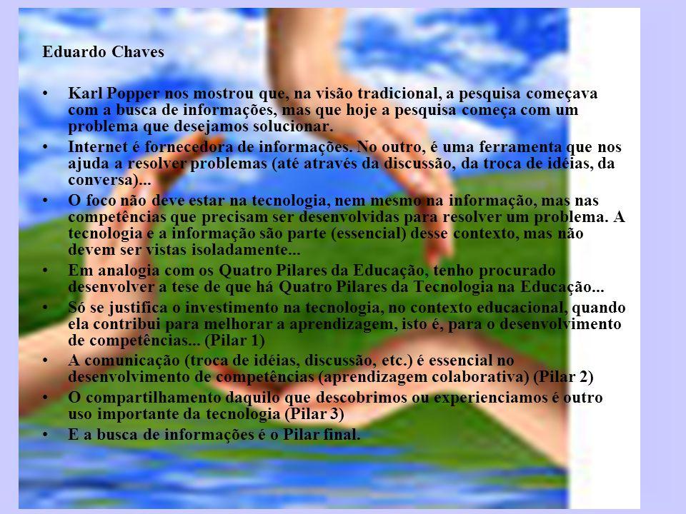 Web biografia http://createafreewebsite.net/template_pck2/default.htm http://br.buscaeducacao.yahoo.com/mt/archives/2007/03/inclua_a_ pesqui.html http://educacao-digital.blogspot.com/ http://www.webquest.futuro.usp.br/chat/chat18-03-03.html http://www.educarede.org.br/educa/index.cfm?pg=internet_e_cia.i nformatica_principal&id_inf_escola=3 http://www.multirio.rj.gov.br/seculo21/ http://br.buscaeducacao.yahoo.com/mt/archives/2006/07/responsa bilidad.html http://www.programaescoladigital.org.br/ http://pontodeencontro.proinfo.mec.gov.br/ http://images.google.com.br