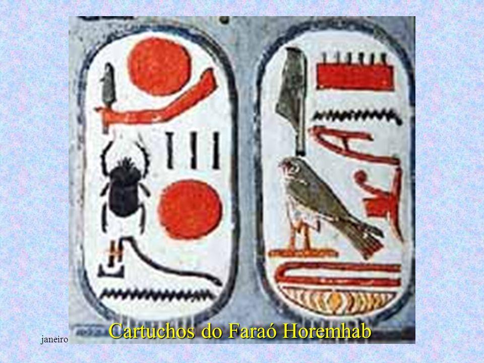 janeiro - 2201Carinho - Adilson Cartuchos do Faraó Horemhab