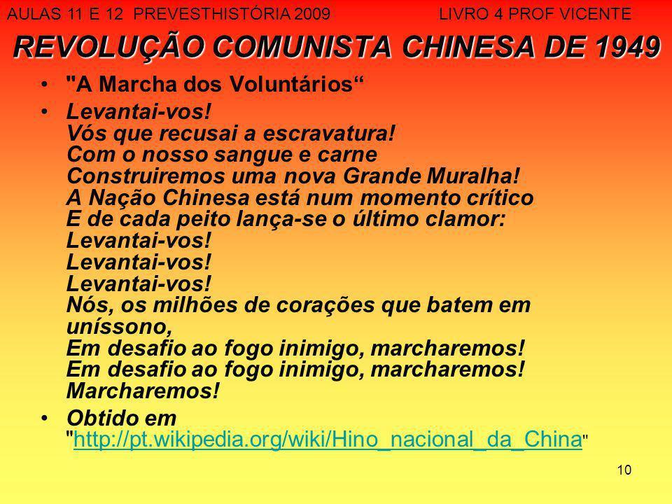 10 REVOLUÇÃO COMUNISTA CHINESA DE 1949