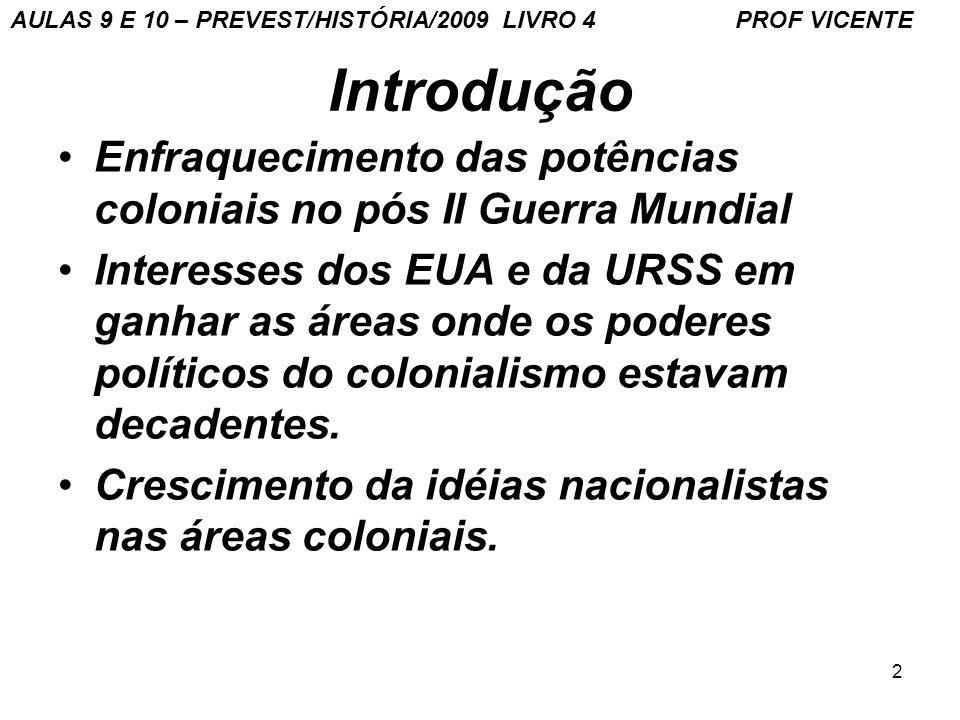 3 Colonialismo tinha começado assim... AULAS 9 E 10 – PREVEST/HISTÓRIA/2009 LIVRO 4 PROF VICENTE