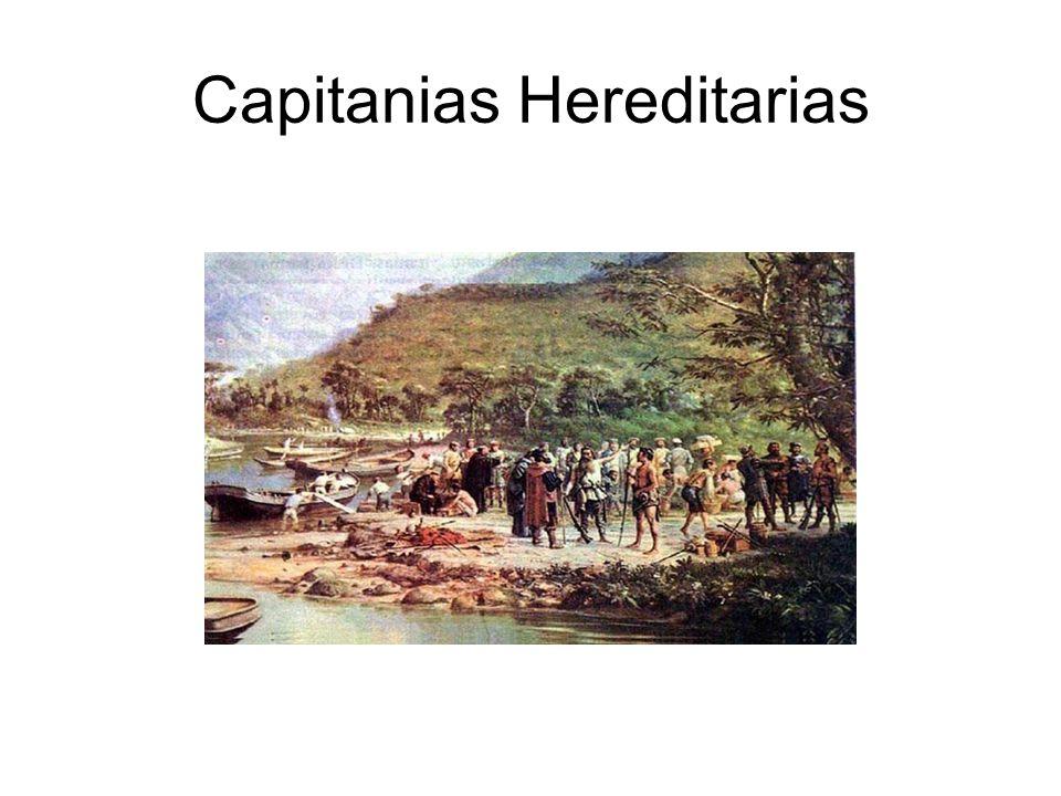 Capitanias Hereditarias