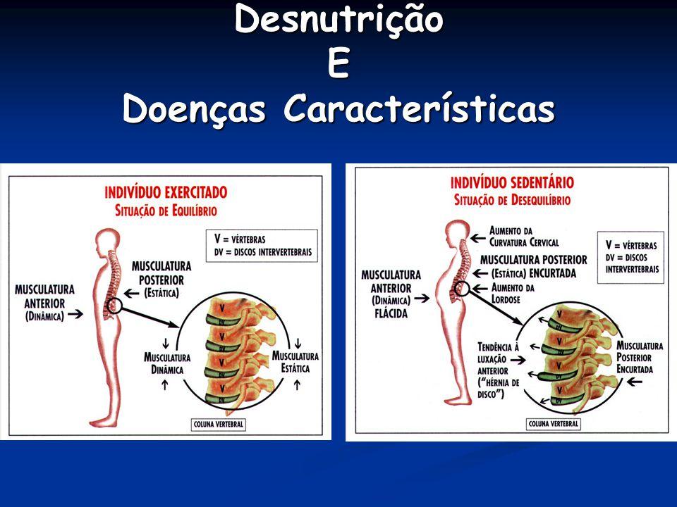 Desnutrição E Doenças Características