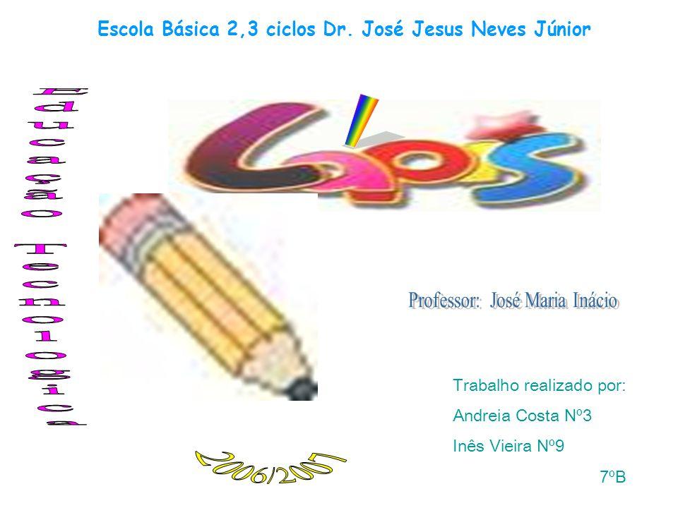 Trabalho realizado por: Andreia Costa Nº3 Inês Vieira Nº9 7ºB Escola Básica 2,3 ciclos Dr.
