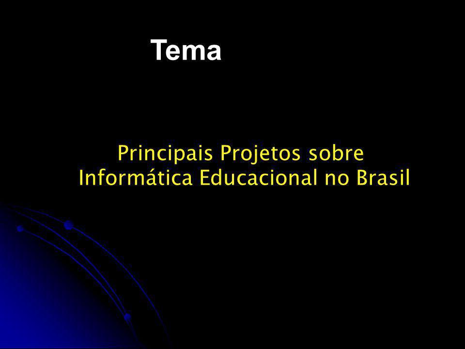 Projeto Educom As primeiras iniciativas governamentais de incentivo à introdução da informática na educação brasileira foram tomadas por volta de 1981 através do Projeto EDUCOM.