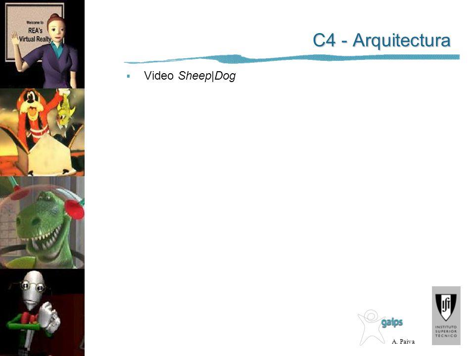 A. Paiva C4 - Arquitectura Video Sheep|Dog