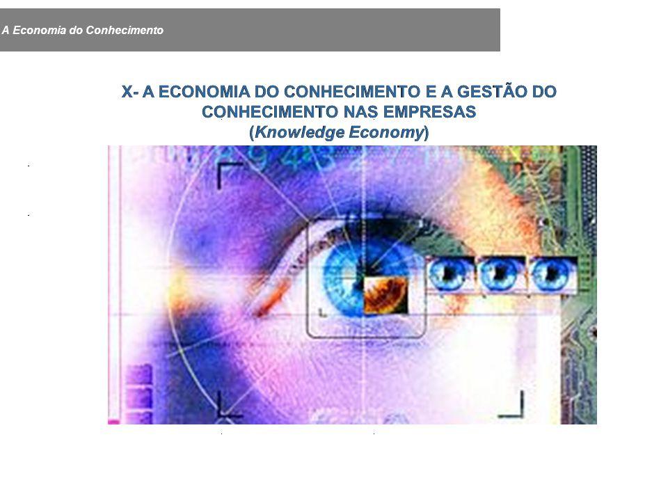 A Economia do Conhecimento X- A ECONOMIA DO CONHECIMENTO E A GESTÃO DO CONHECIMENTO NAS EMPRESAS (Knowledge Economy)