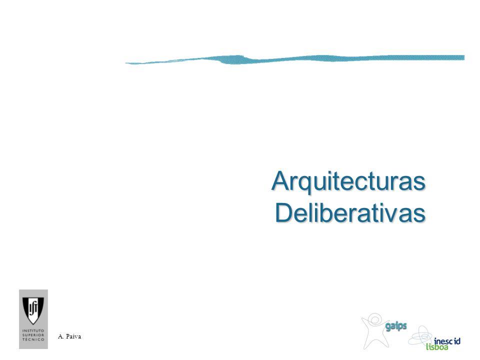 A. Paiva Arquitecturas Deliberativas