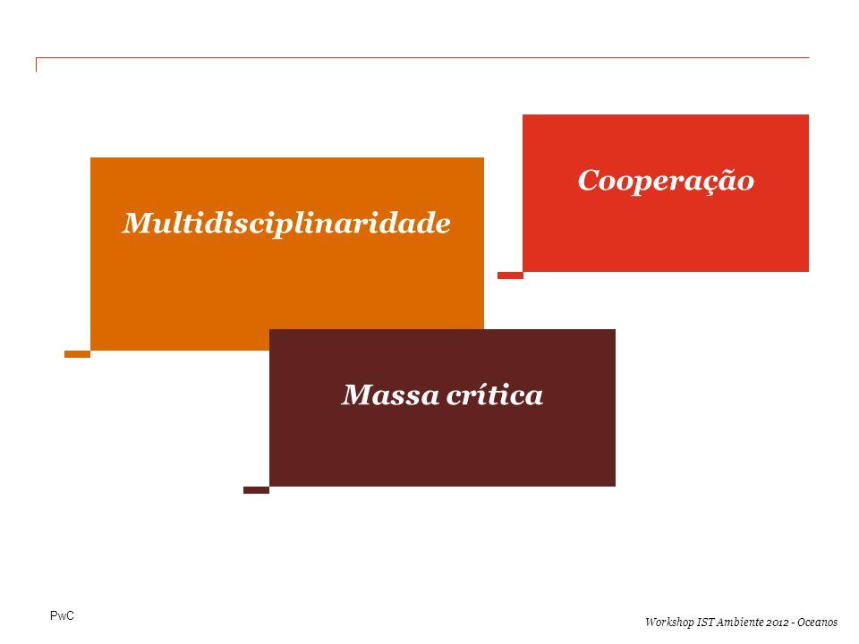 PwC Workshop IST Ambiente 2012 - Oceanos Multidisciplinaridade Cooperação Massa crítica