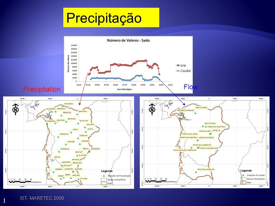 1 1. Com base na topografia foram geradas 700 sub-bacias para a RH6 com áreas entre 0.001 km2 e 100 km2 2. Sub-bacias foram geradas em função das mass