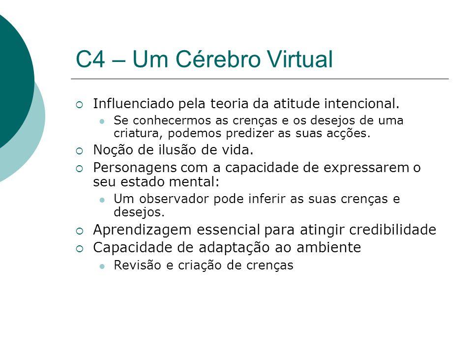 C4 – Um Cérebro Virtual Influenciado pela teoria da atitude intencional.