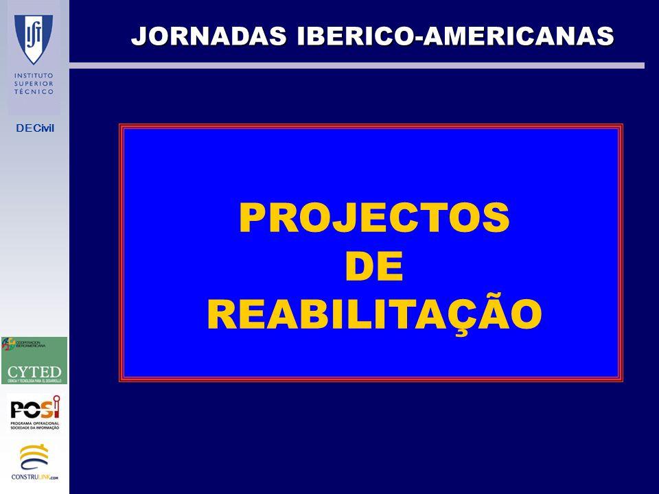 DECivil PROJECTO DE EDIFÍCIOS NOVOS VERSUS REABILITAÇÃO