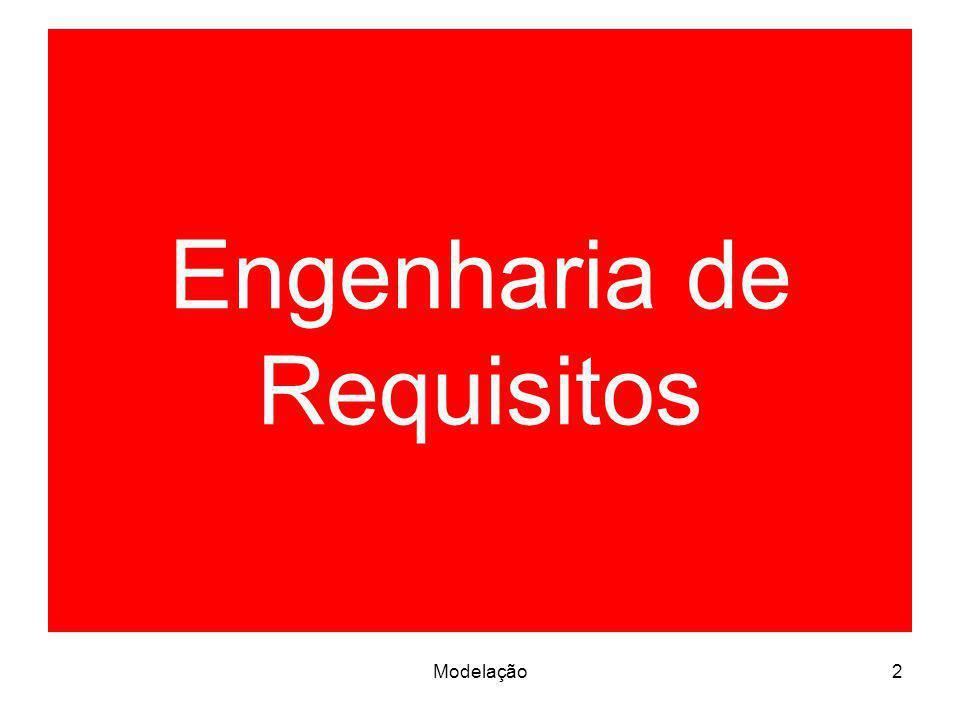 Modelação2 Engenharia de Requisitos