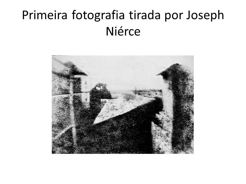 Primeira fotografia tirada por Joseph Niérce