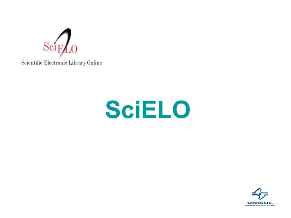 A Scientific Electronic Library Online - SciELO é uma biblioteca eletrônica que abrange uma coleção selecionada de periódicos científicos brasileiros com acesso gratuito.