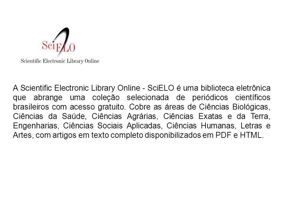 É possível selecionar o idioma em que o site será apresentado