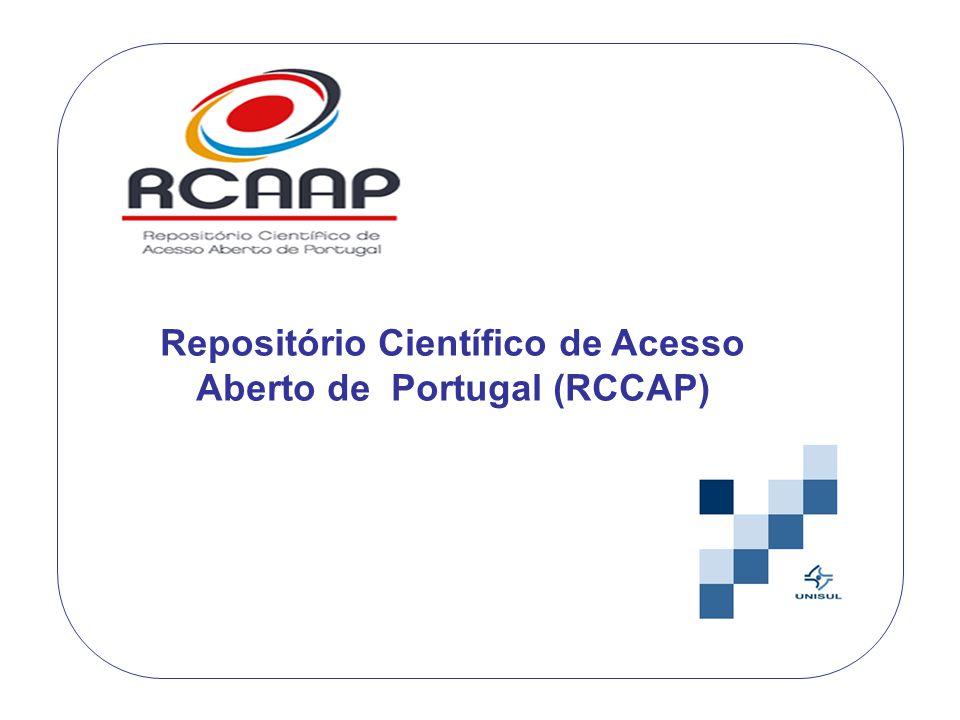Repositório Científico de Acesso Aberto de Portugal (RCCAP)
