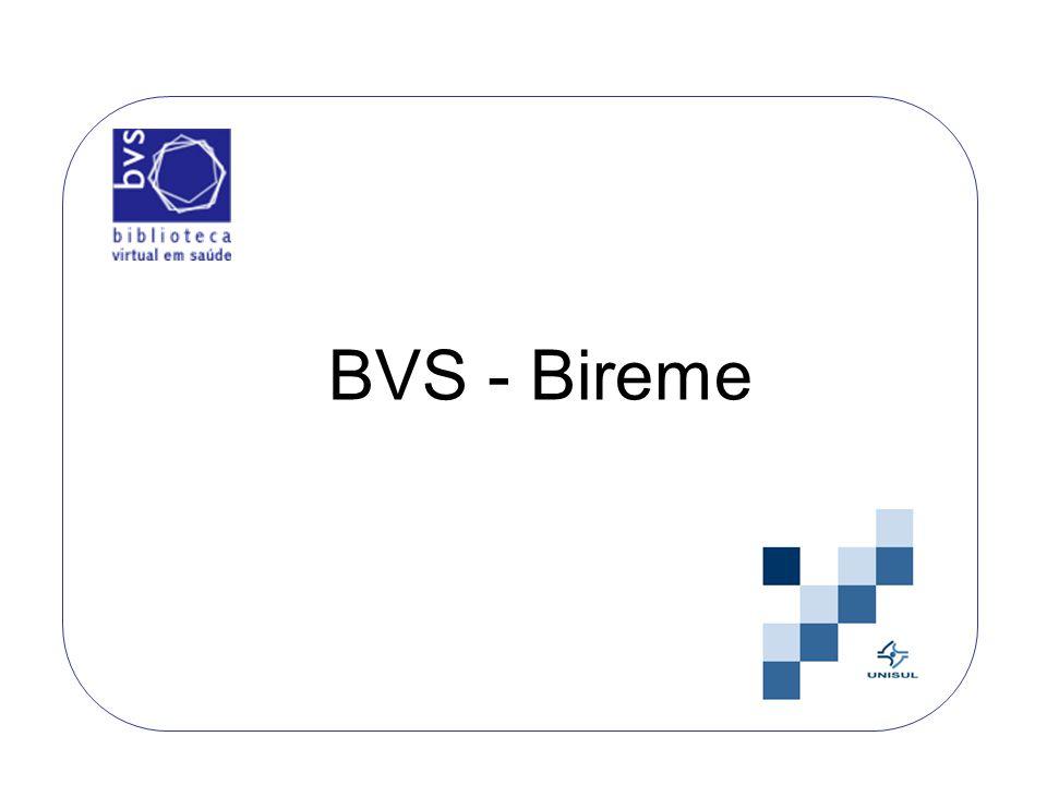 A BVS concentra fontes de informação em saúde disseminando a literatura científica e técnica em: Ciências da saúde (MEDLINE, LILACS, Cochrane); Medicina por evidência; Bases de dados em áreas específicas da saúde.