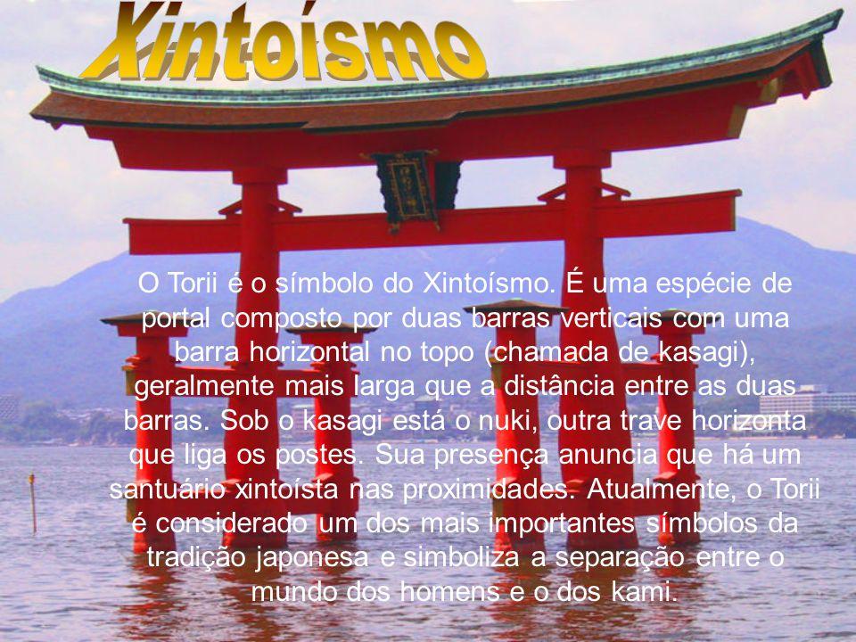 O Torii é o símbolo do Xintoísmo.