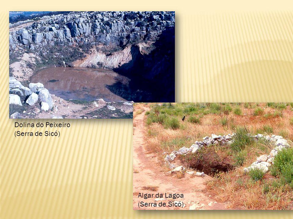 Lapiás Terra Rossa. Resulta da meteorização química do calcário.
