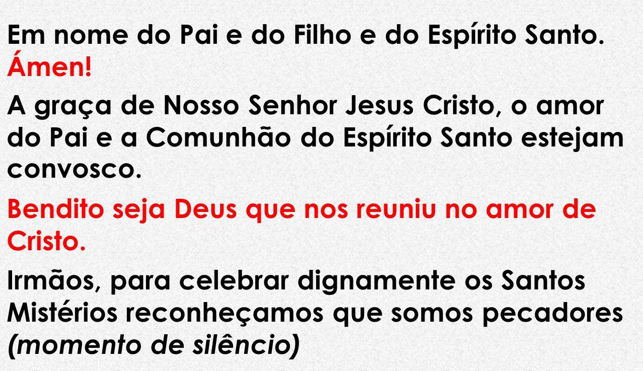 Ficha técnica : Eucaristia Celebrada por : Fr.