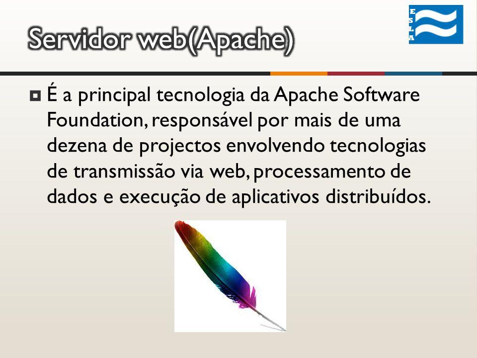 É a principal tecnologia da Apache Software Foundation, responsável por mais de uma dezena de projectos envolvendo tecnologias de transmissão via web, processamento de dados e execução de aplicativos distribuídos.