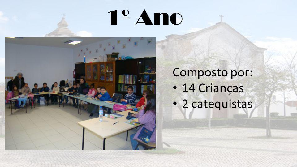 1º Ano Composto por: 14 Crianças 2 catequistas