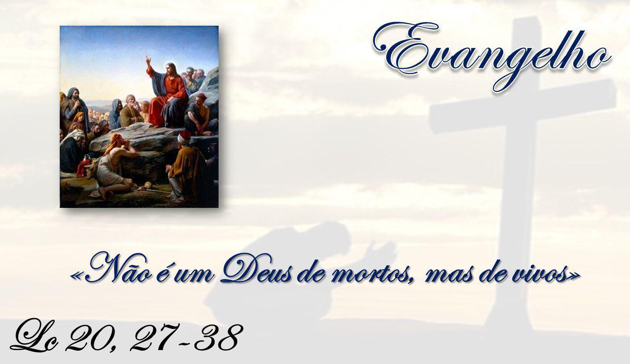 Lc 20, 27-38 «Não é um Deus de mortos, mas de vivos»