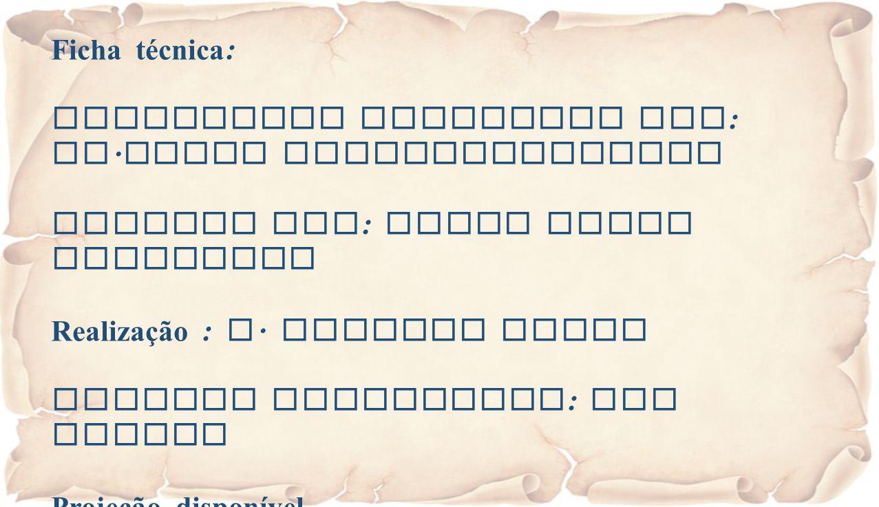 Ficha técnica : Eucaristia Celebrada por : Fr. Jacob Puthiyaparampil Animada por : Grupo Coral Dominical Realização : A. Alberto Sousa Imagens recolhi