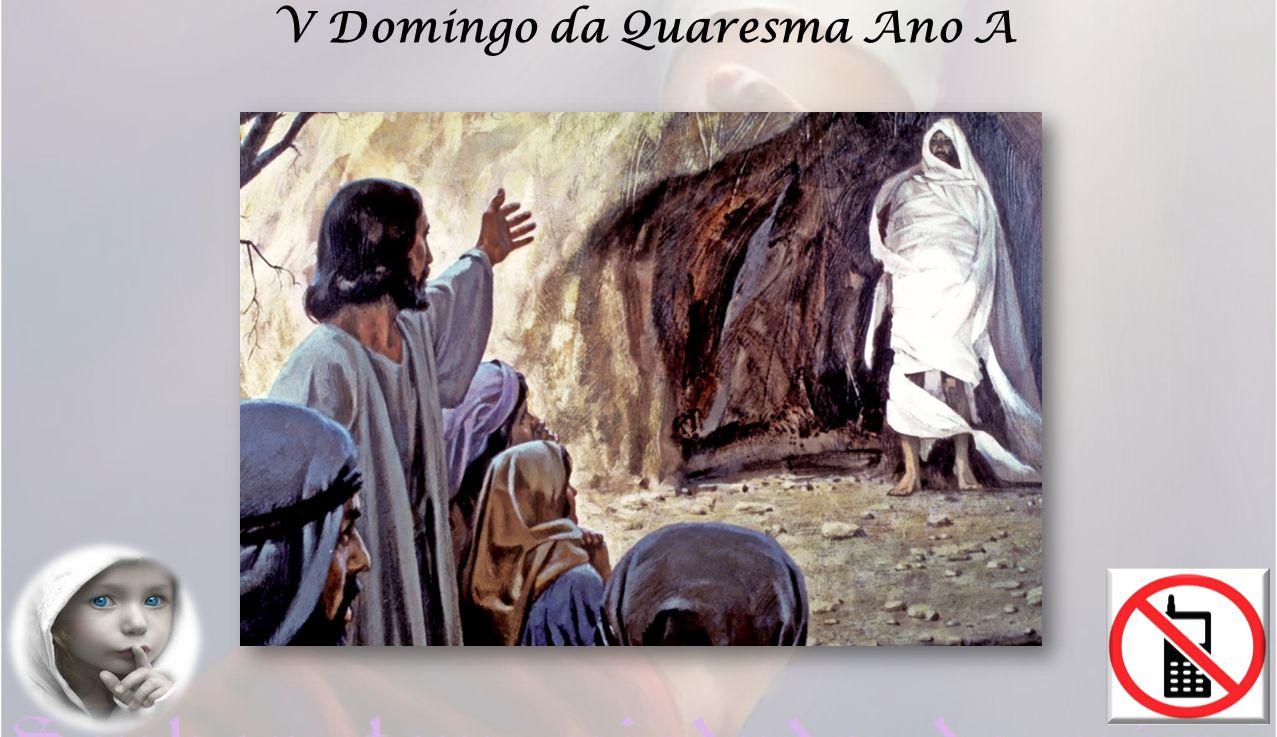 O grito de Jesus Lazaro, sai para fora foi ouvido e voltou à vida passados quatro dias da sua morte.