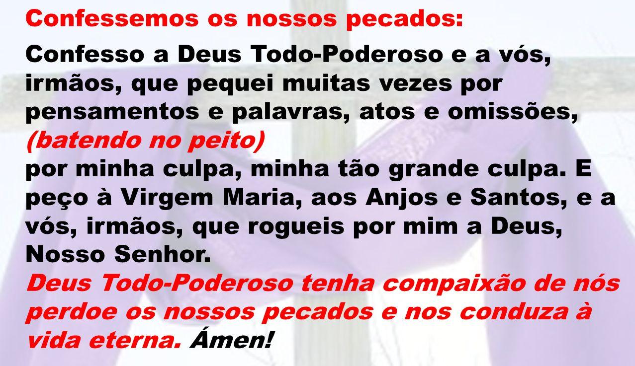 Pelos que não têm paz ou estão doentes, para que os discípulos de Jesus sejam para eles testemunhas diligentes do Evangelho, oremos, irmãos.