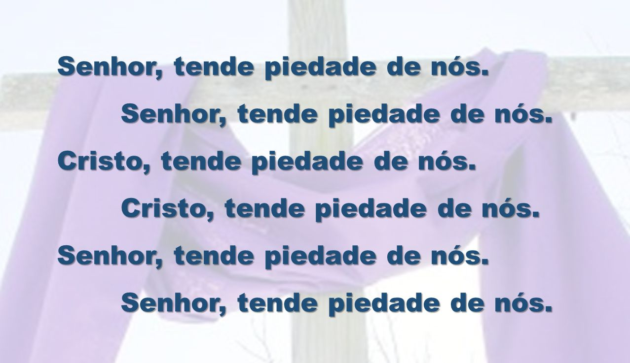 Senhor, nosso Deus e nosso Pai, que nos ensinastes pela palavra de Jesus que o homem não vive só de pão, conduzi-nos pelo Espírito ao deserto, para escutarmos sempre mais a sua voz.