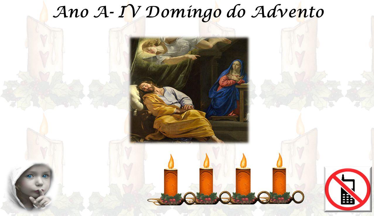 EVANGELHO Mt 1, 18-24 «A Virgem conceberá e dará à luz um Filho, que será chamado Emanuel, que quer dizer Deus connosco».