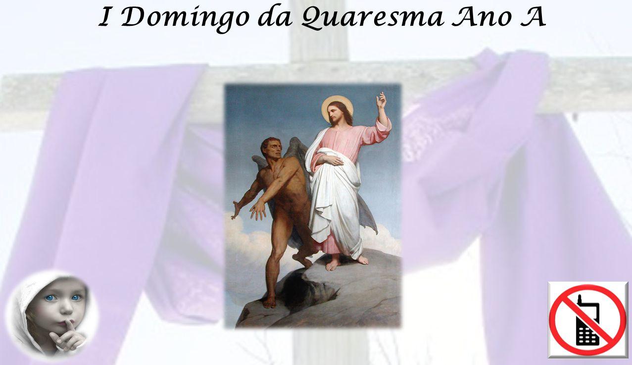 (Todos de pé) ORAÇÃO SOBRE AS OBLATAS Fazei que a nossa vida, Senhor, corresponda à oferta das nossas mãos, com a qual damos início à celebração do tempo santo da Quaresma.