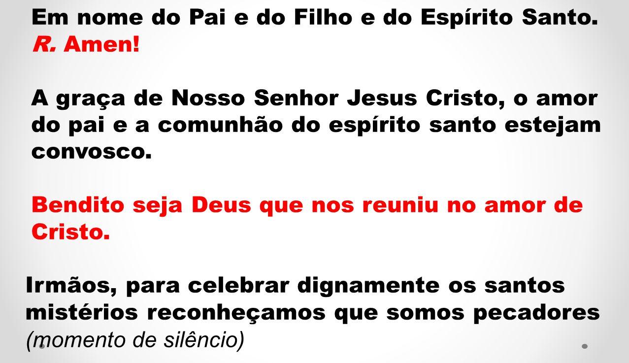 Evangelho de Nosso Senhor Jesus Cristo segundo São Lucas ( Lc 9, 18-24) Um dia, Jesus orava sozinho, estando com Ele apenas os discípulos.