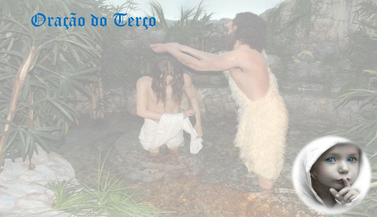 EVANGELHO Mt 3, 13-17 Naquele tempo, Jesus chegou da Galileia e veio ter com João Baptista ao Jordão, para ser batizado por ele.