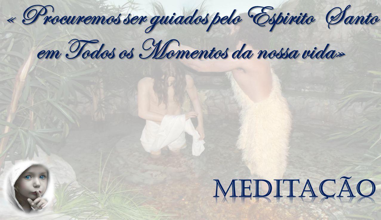 « Procuremos ser guiados pelo Espirito Santo em Todos os Momentos da nossa vida»
