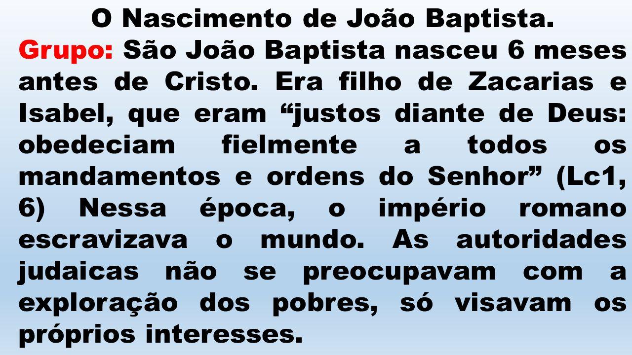 Ladainha de São João Baptista 16.Eras mais que um profeta - Rogai por nós.