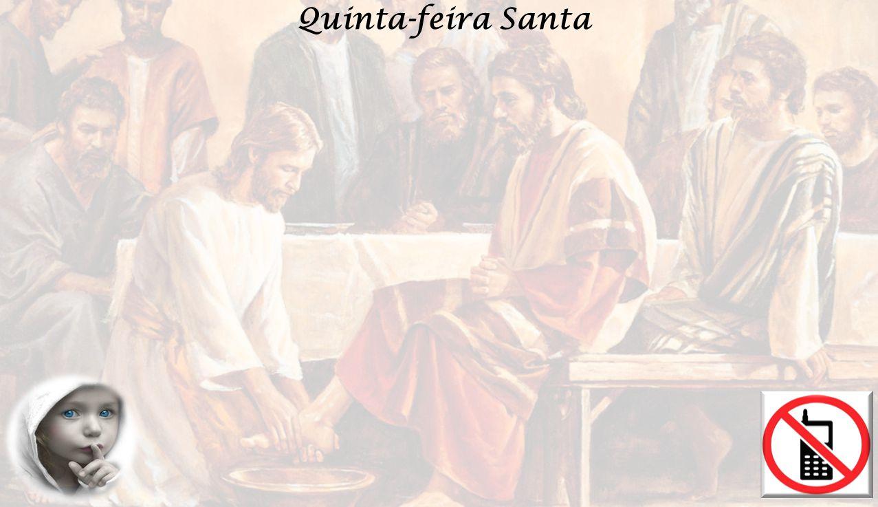 Louvor a vós Rei da Eterna Glória, louvor a Vós (2x) Dou-vos um mandamento novo, diz o Senhor: Amai-vos uns aos outros como Eu vos amei.