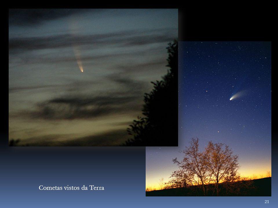 21 Cometas vistos da Terra