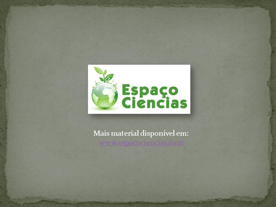 Mais material disponível em: www.espacociencias.com