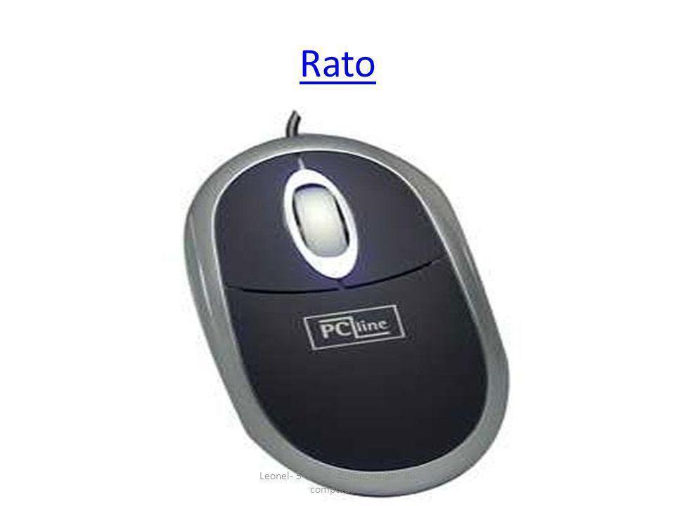 Rato Leonel- 5ºE- TIC- Componentes do computador