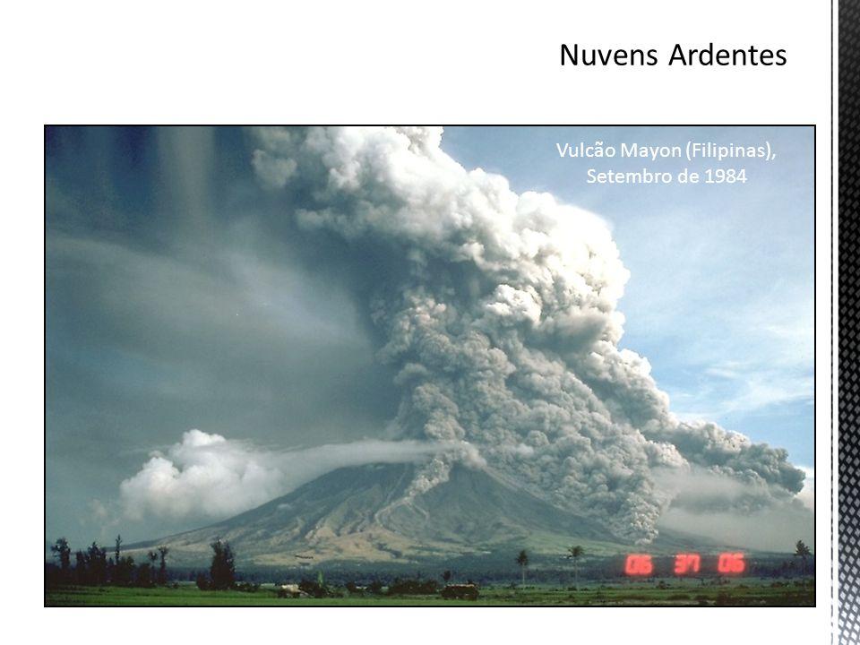 Vulcão Mayon (Filipinas), Setembro de 1984
