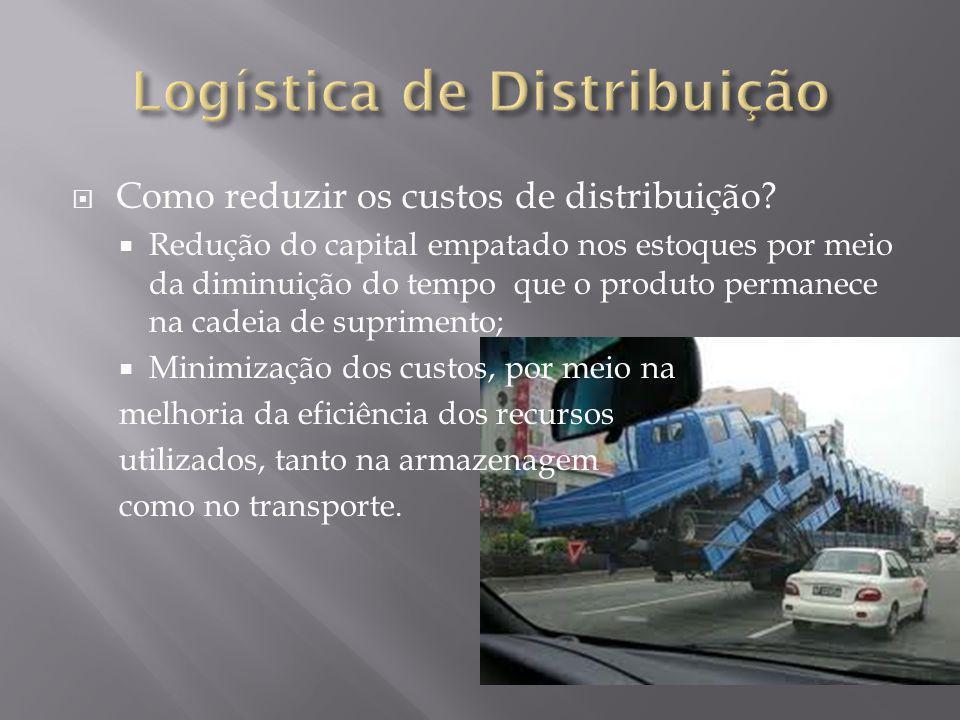 Como reduzir os custos de distribuição? Redução do capital empatado nos estoques por meio da diminuição do tempo que o produto permanece na cadeia de