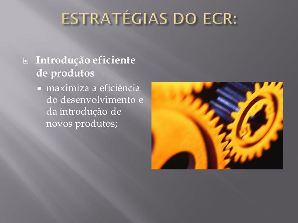 Introdução eficiente de produtos maximiza a eficiência do desenvolvimento e da introdução de novos produtos;