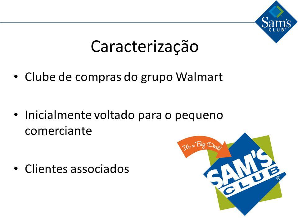 VMI – Vendor Management Inventory Sams Club é muito forte no setor; Eles não possuem nenhum fornecedor que dita a quantidade de produtos fornecidos; Tal ação é mais comum no setor de eletrônicos;