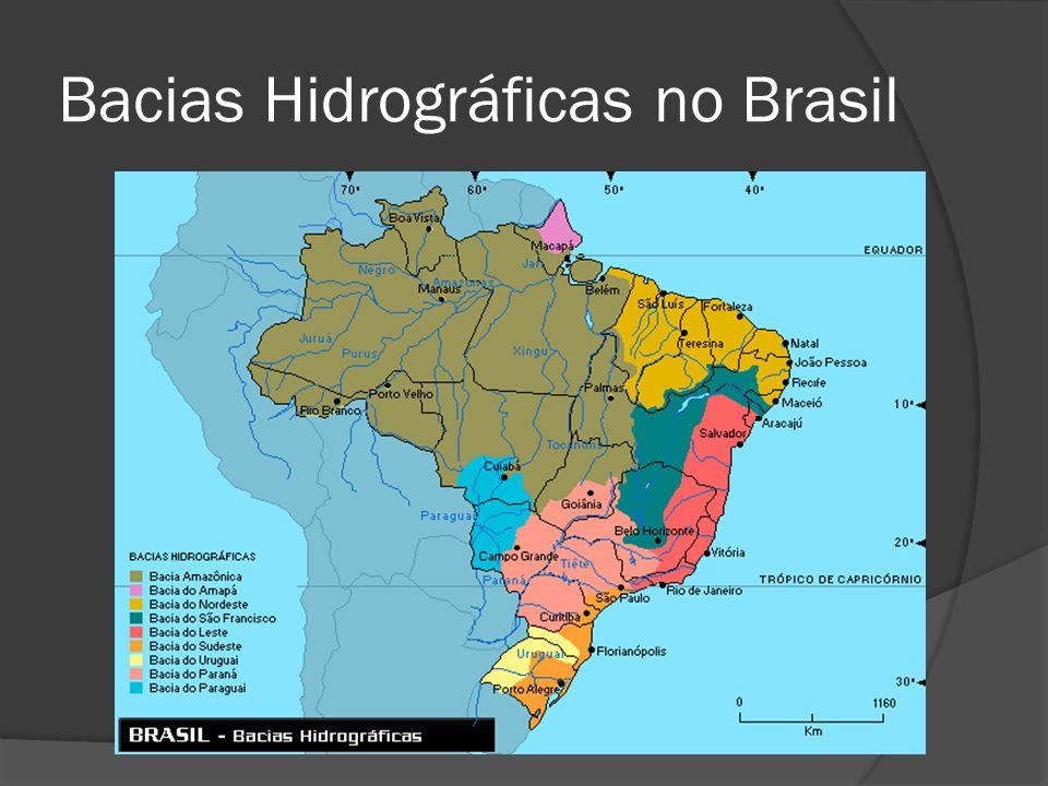 Bacias Hidrográficas no Brasil
